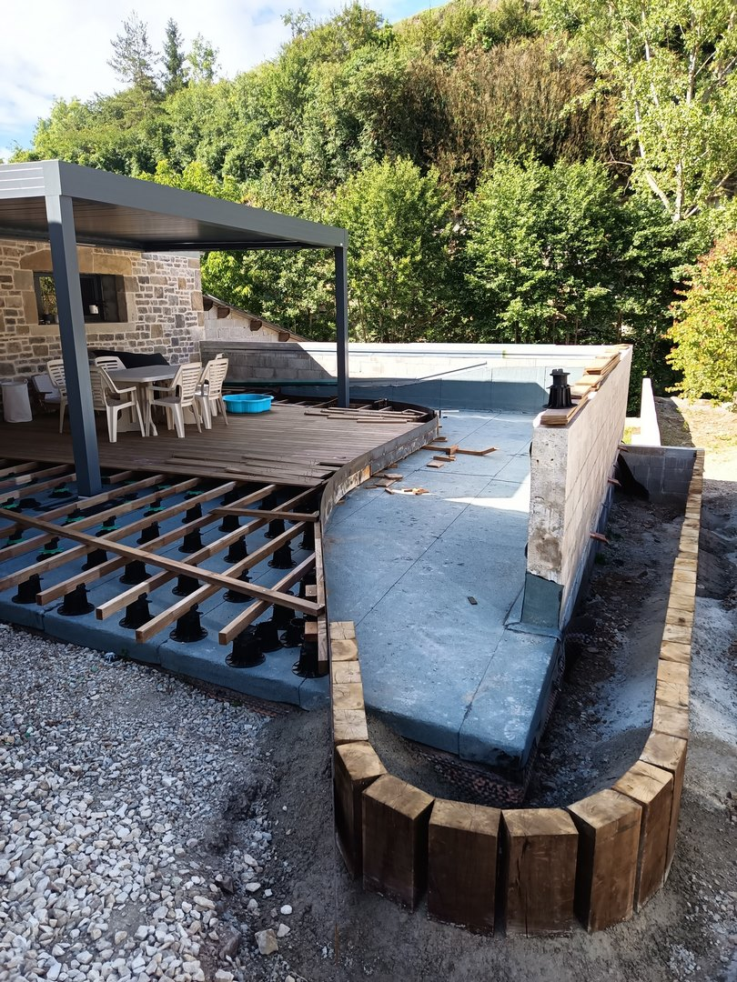 creation terrasse bois Aveyron 12